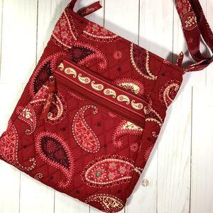 copied-Vera Bradley Mesa Red Hipster Bag